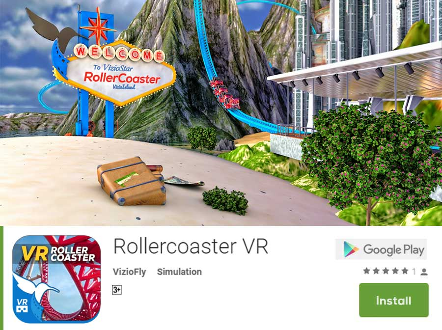 Rollercoaster VR Download Google Playstore