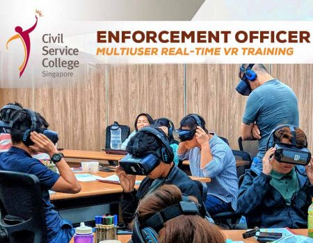 Civil Service College VR Training